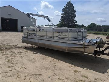 1996 ERCOA CAPTAIN DLX 60HP NEWER ENGINE