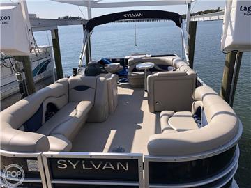 2016 Sylvan Mirage 8522 Cruise N Fish