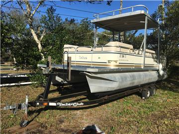 2005 Tahoe Pontoon & Trailer